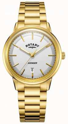 Rotary Mężczyzna mściciel zegarka złoty barcelet ton GB05343/02