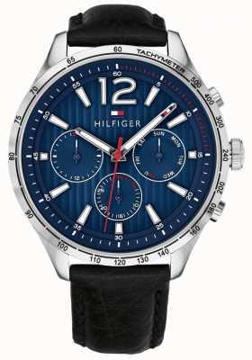 Tommy Hilfiger Męski zegarek chronograf czarny gavin 1791468