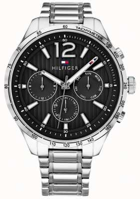 Tommy Hilfiger Męski zegarek z chronografem marki Gavin ze stali nierdzewnej 1791469