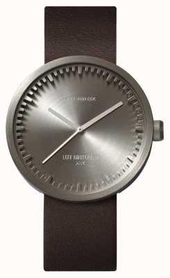 Leff Amsterdam Zegarek do zegarka d42 skórzany pasek ze stali w kolorze brązowym LT72002