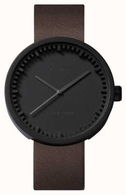 Leff Amsterdam Zegarek na tubkę d42 czarny skórzany pasek w etui LT72012