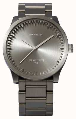 Leff Amsterdam Zegarek na rękę s38 stalowa bransoleta ze stali LT71101