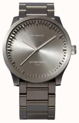 Leff Amsterdam Zegarek na rękę s42 stalowa bransoleta ze stali LT72101