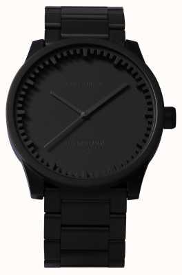 Leff Amsterdam Zegarek na rękę s42 czarna czarna bransoletka LT72102