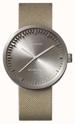 Leff Amsterdam Zegarek na tubkę ze stali kauczukowej z drutu cordura LT72003