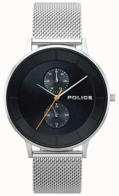 Police Męski zegarek z metalowej siatki Berkeley 15402JS/02MM