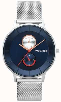 Police Męski zegarek ze stali berkeley 15402JS/03MM