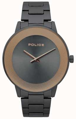 Police Minimalistyczny zegarek męski ze stali nierdzewnej ze stali nierdzewnej 15386JSU/61M