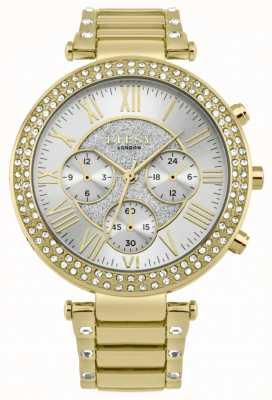 Lipsy Damski zegarek z kryształową bransoletką bezel LP561
