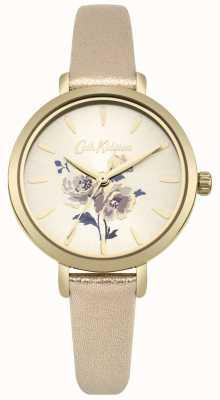 Cath Kidston Zegarek kieszonkowy z metalowym złotem CKL049G