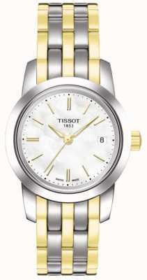 Tissot Damska klasyczna biała bransoletka sen z białego mopa T0332102211100