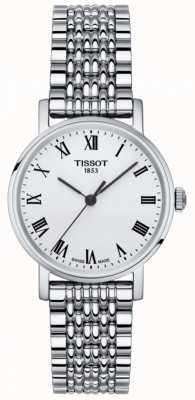 Tissot Damska zawsze mała szafirowa srebrna tarcza ze stali nierdzewnej T1092101103300