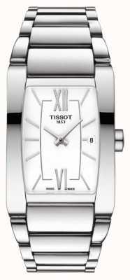 Tissot Damska generosi-t ze stali nierdzewnej biała data wybierania T1053091101800