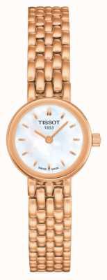 Tissot Damska tarcza do mopa w kolorze różowego złota T0580093311100