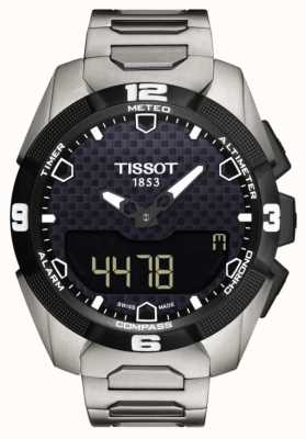Tissot Męski t-touch ekspert słoneczny tytanowy podwójny czujnik T0914204405100