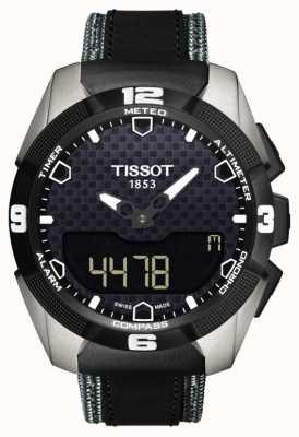 Tissot Męski t-touch expert z tytanową skórą z podwójnym czujnikiem słonecznym T0914204605101