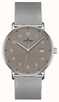 Junghans Tworzą automatyczną bransoletkę z siatki milanese 027/4836.44