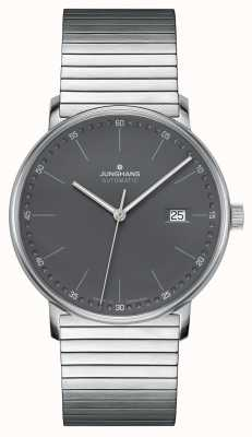 Junghans Tworzą automatyczny zegarek ze stali nierdzewnej 027/4833.44