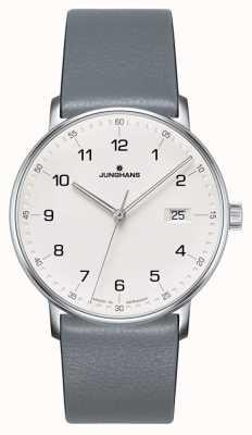 Junghans Wykonaj zegarek w kolorze kwarcowej szarości 041/4885.00