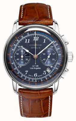 Zeppelin Tachymetr z chronografem Los Angeles 7614-3