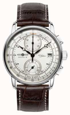 Zeppelin | seria 100 lat | wydanie 1 | kremowy data chronografu | 8670-1