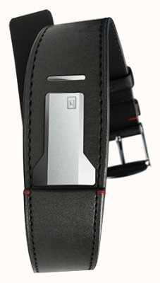 Klokers Klink 01 satynowy czarny pasek o szerokości tylko 22 mm i długości 230 mm KLINK-01-MC1
