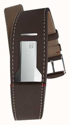 Klokers Klink 01, czekoladowy, brązowy pasek o szerokości 22 mm i długości 230 mm KLINK-01-MC4