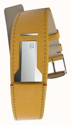 Klokers Klink 01 newport żółty pasek o szerokości 22 mm i długości 230 mm KLINK-01-MC7.1