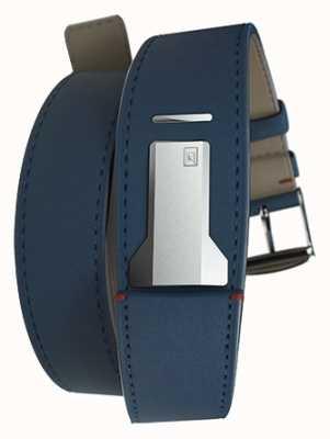 Klokers Klink 02 indygo niebieski podwójny pasek tylko o długości 22 mm i długości 420 mm KLINK-02-420C3
