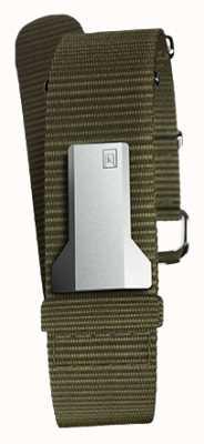 Klokers Klink 03 liszaj tekstylny pojedynczy pasek tylko 20 mm szerokości 230 mm KLINK-03-MC2
