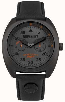 Superdry Scout aviator data i dzień wyświetla czarny pasek SYG229BB