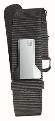 Klokers Klink 03 czarny tekstylny pojedynczy pasek tylko 20 mm szerokości 230 mm KLINK-03-MC3