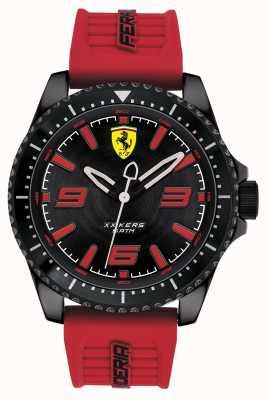 Scuderia Ferrari Xx kers czarna tarcza czerwony pasek gumowy 0830498