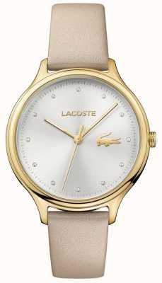 Lacoste Komplet kryształów Ladies constance, srebrna tarcza 2001007