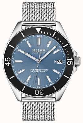 Boss Jasnoniebieski pasek z czarną obwódką w wersji oceanicznej 1513561