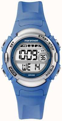 Timex Sportowy zegarek sportowy w kolorze maratonu z jasnoniebieskim paskiem TW5M14400