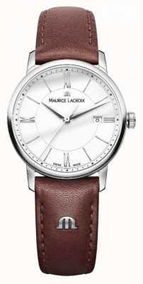 Maurice Lacroix Damski skórzany pasek z brązowej skóry eliros EL1094-SS001-110-1