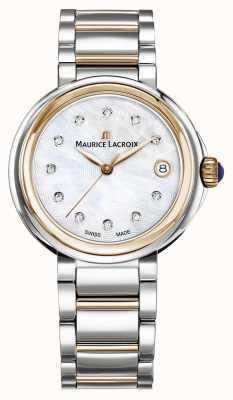 Maurice Lacroix Damska fiaba z masy perłowej wybieranie dwuczęściowej bransoletki FA1007-PVP13-170-1