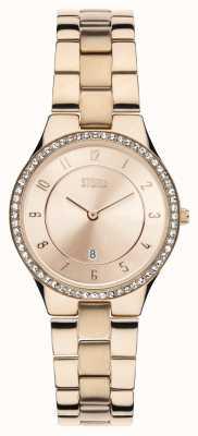 STORM Slim-x kryształ różowe złoto 47189/RG/RG
