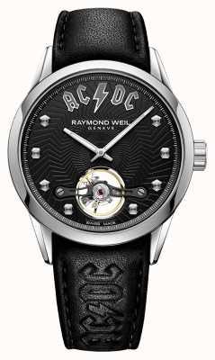 Raymond Weil Freelancer acdc limitowana edycja czarna tarcza 2780-STC-ACDC1