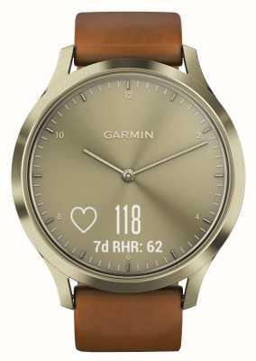 Garmin Vivomove hr (małe / średnie) premium tracker złota 010-01850-05