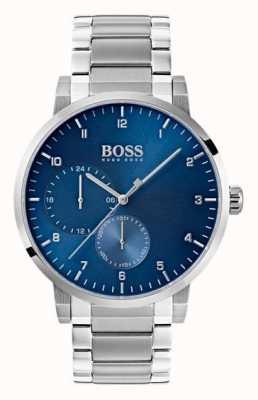 Hugo Boss Zegarek męski z tlenkiem niebieski zegarek ze stali nierdzewnej 1513597