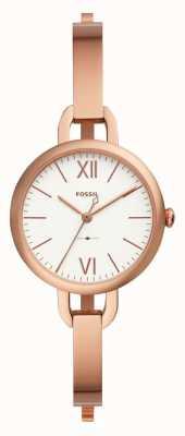 Fossil Damski zegarek annette z różowego złota ES4391