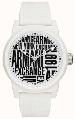 Armani Exchange Męski pasek silikonowy atlc AX1442
