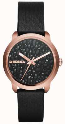 Diesel Pasek ze skórzanymi rączkami dla kobiet DZ5520