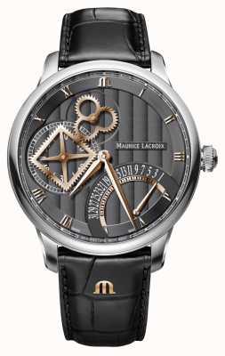 Maurice Lacroix Odwrotny automatyczny zegarek z kwadratowym kołem MP6058-SS001-310-1