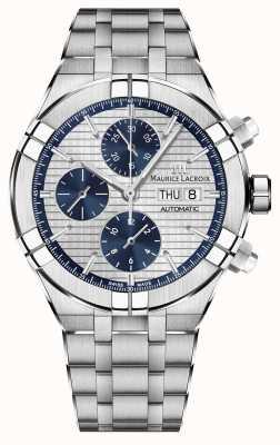 Maurice Lacroix Zegarek automatyczny z mechanizmem chronograficznym Aikon AI6038-SS002-131-1