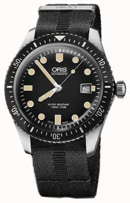 Oris Divers sześćdziesiąt pięć automatyczny czarny czarny pasek nato 01 733 7720 4054-07 5 21 26FC