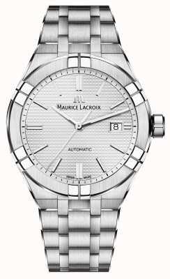 Maurice Lacroix Aikon automatyczny zegarek ze stali nierdzewnej AI6008-SS002-130-1