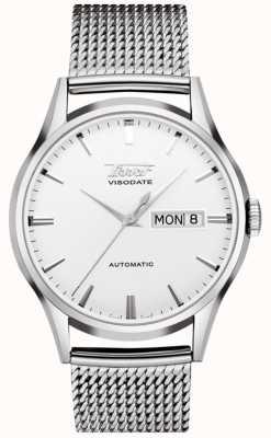 Tissot Automatyczny zegarek Heritage Visodate ze stali nierdzewnej T0194301103100